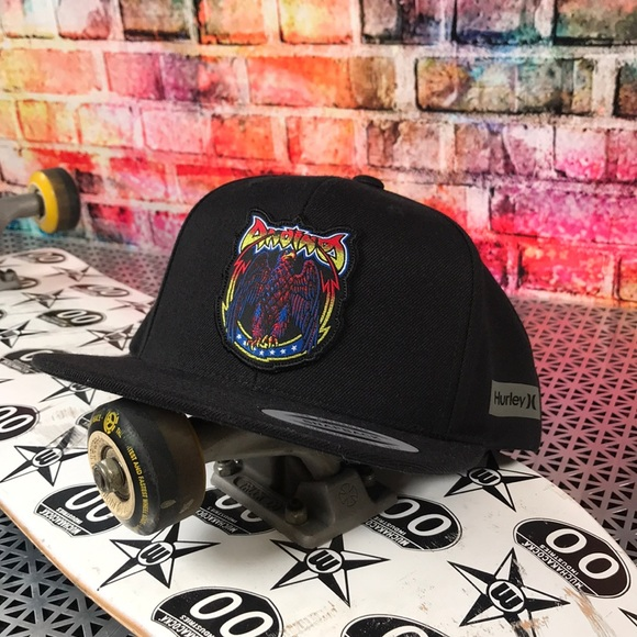 low priced 79883 9f7e8 Hurley Accessories   Snapback   Poshmark